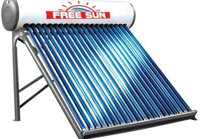 Compact solar water heater system (Thermo siphon)